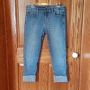 Gap cuffed jeans